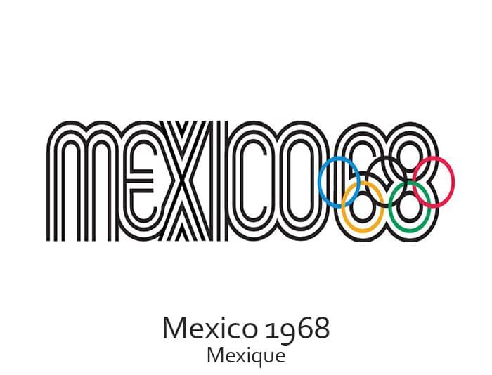 Les jeux olympiques (JO) de 1968 ont eu lieu à Mexico au Mexique