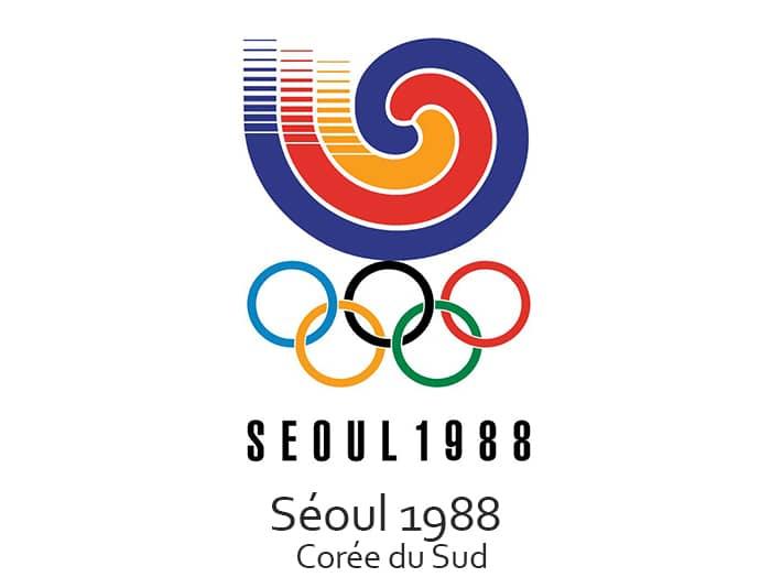 Les jeux olympiques (JO) de 1988 ont eu lieu à Séoul en Corée du Sud