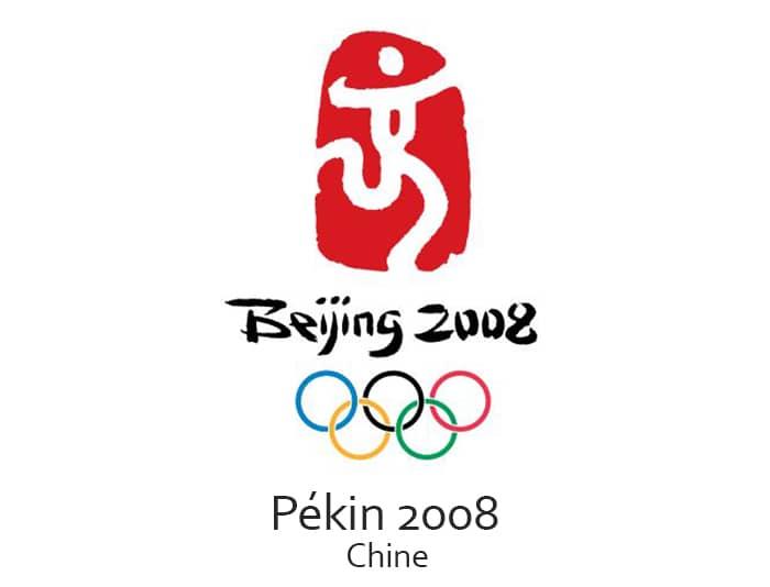 Les jeux olympiques (JO) de 2008 ont eu lieu à Beijing ou Pékin en Chine