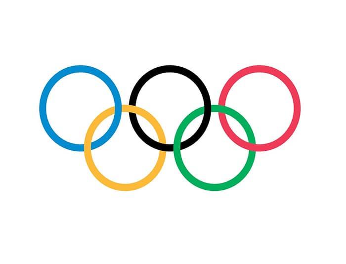 En 2010, le logo des jeux olympiques redevient le même qu'avant 1986