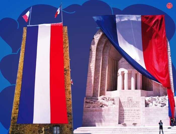 Le drapeau France XXL au très grand format