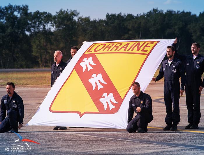 drapeau du blason de la Lorraine