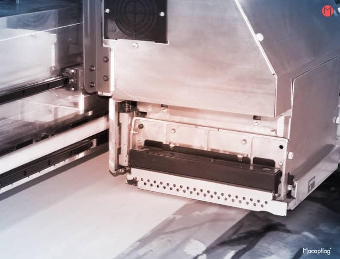Impression numérique sur textile pour un kakémono grand format
