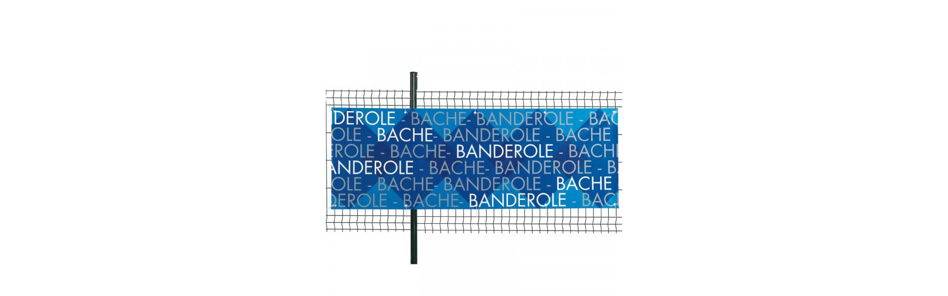 Banderole - Bâche publicitaire