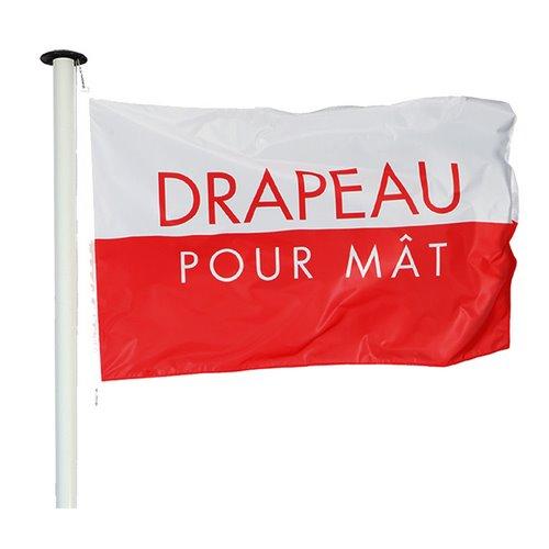 Drapeau pour Mât Personnalisé  - MACAP