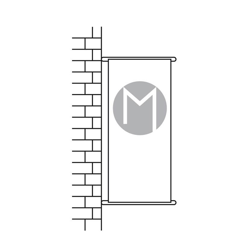 Kakemono pour façade - MACAP