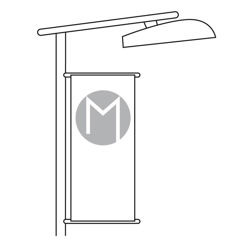 Kakemono pour lampadaire - MACAP
