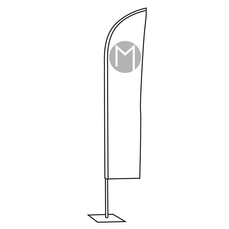 Beach flag - Oriflamme - MACAP
